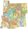 Southern Rocky Mountains Geological Highway Map (2013)